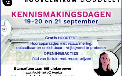 Uitnodiging: kennismakingsdagen 19-20 & 21 september